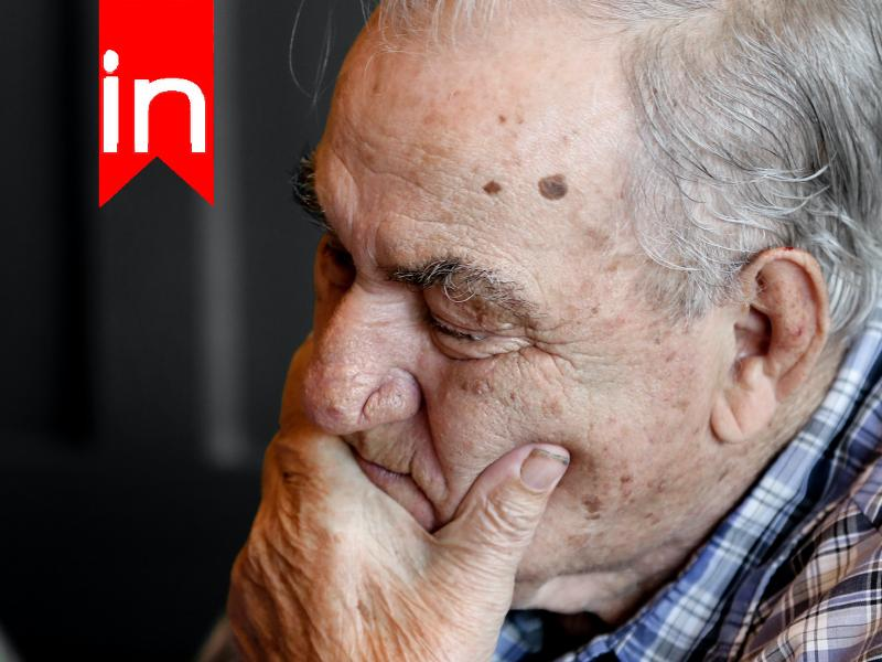 Alzheimer Patient Pondering
